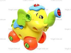 Детский конструктор «Слоник», 88301, детские игрушки