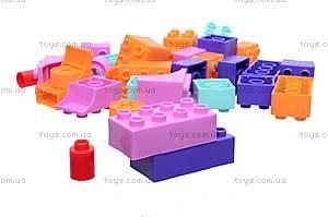 Детский конструктор «Тигрес», 50 элементов, 39094, игрушки