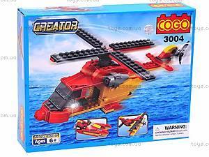 Детский конструктор «Вертолет», 3004
