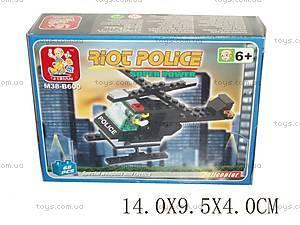 Детский конструктор «Военная полиция», M38-B600