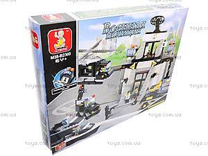 Детский конструктор «Военная полиция», 876 деталей, M38-B2300R