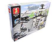 Детский конструктор «Военная полиция», 876 деталей, M38-B2300R, купить
