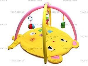 Детский коврик для малышей с погремушками, 289-9A, купить