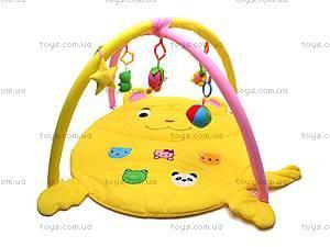 Детский коврик для малышей с погремушками, 289-9A, отзывы
