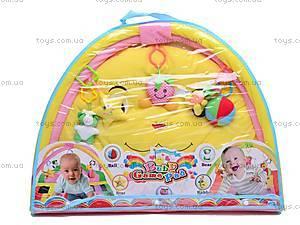 Детский коврик для малышей с погремушками, 289-9A