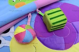 Детский коврик «Облако заботы» с погремушками, B01105, цена