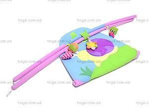 Детский коврик «Облако заботы» с погремушками, B01105, игрушки