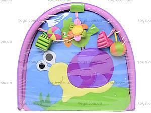 Детский коврик «Облако заботы» с погремушками, B01105