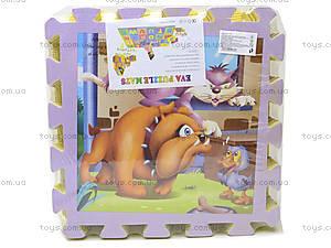 Детский коврик-пазл «Дисней», D284, фото