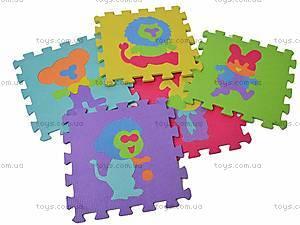 Детский коврик-пазл «Животные», JC-679