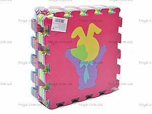 Детский коврик-пазл «Животные», JC-679, купить