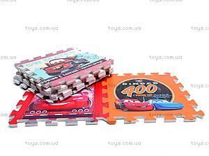 Детский коврик-пазл «Тачки», FS-455, фото