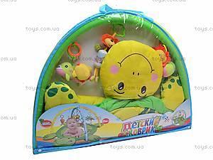 Детский коврик с погремушечками, 0228-1R, игрушки