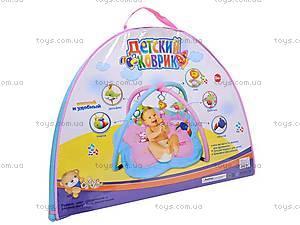Детский коврик с погремушками, 898-10B, купить