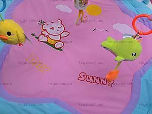 Детский коврик с погремушками, 898-10B, цена