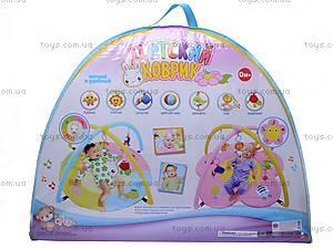 Детский коврик с погремушками «Цветочек», 898-20B, купить