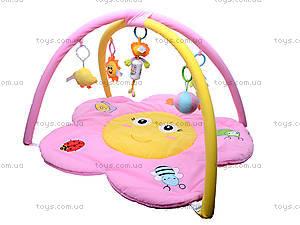 Детский коврик с погремушками «Цветочек», 898-20B