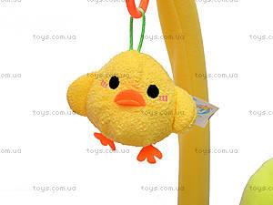 Детский коврик с погремушками «Цветочек», 898-20B, игрушки
