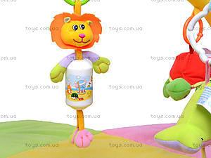 Детский коврик с погремушками «Цветочек», 898-20B, детские игрушки
