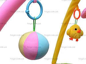Детский коврик с погремушками «Цветочек», 898-20B, магазин игрушек