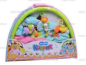 Детский коврик с погремушками «Коровка», 898-35B, купить