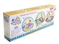 Детский коврик с погремушками, на дуге, 68003, купити