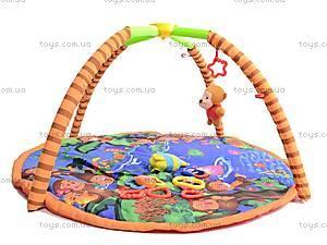 Детский коврик с погремушками, на дуге, 68003, отзывы