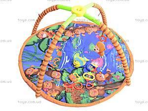 Детский коврик с погремушками, на дуге, 68003, цена
