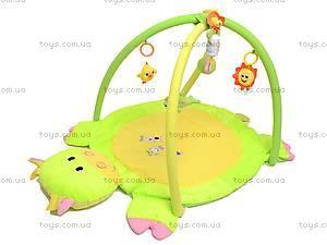 Детский коврик, с погремушками на дуге, 0228-3R, фото