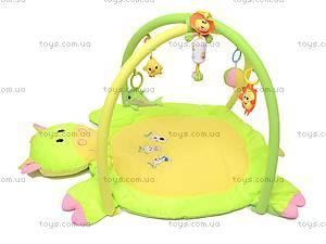 Детский коврик, с погремушками на дуге, 0228-3R