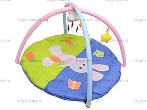 Детский коврик с погремушками на дуге, 68002, купить