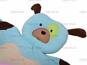 Детский коврик «Собака» с погремушками, 898-32B, игрушки