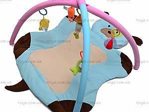 Детский коврик «Собака» с погремушками, 898-32B, детские игрушки