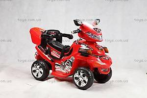 Детский красный квадроцикл, K-011