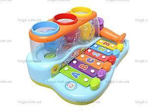 Детский ксилофон с сортером, 856, отзывы
