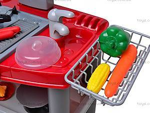 Детский кухонный гарнитур, 663C, игрушки