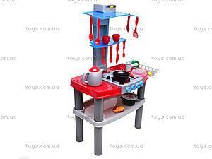 Детский кухонный гарнитур, 663C, іграшки