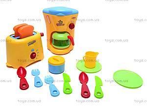 Детский кухонный набор с тостером, 08039, игрушки