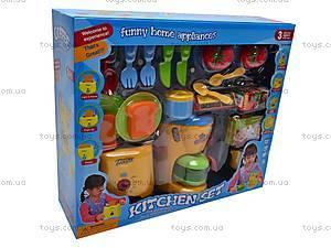 Детский кухонный набор с тостером, 08039