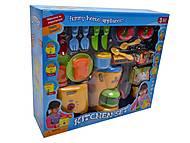Детский кухонный набор с тостером, 08039, игрушка