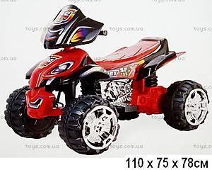 Детский квадроцикл, черно-красный, ZP5118(VC118)