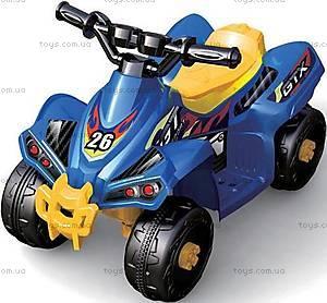 Детский квадроцикл, синий, 3010370