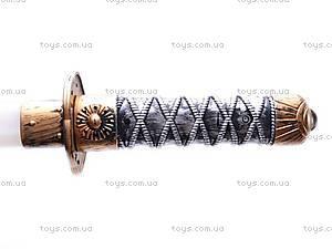Детский меч-сабля, 3901A, фото
