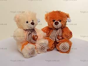 Детский медведь с шарфом, плюшевый, S-YF3004