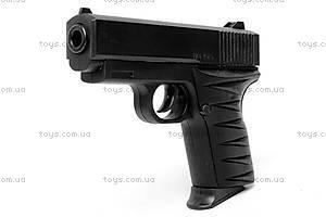 Детский металлический пистолет, с пулями, 2010, купить