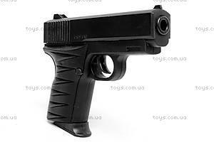 Детский металлический пистолет, с пулями, 2010, фото