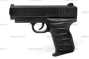 Детский металлический пистолет, с пулями, 2010, цена