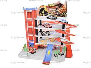 Детский многоуровневый паркинг, 5513-63, игрушки