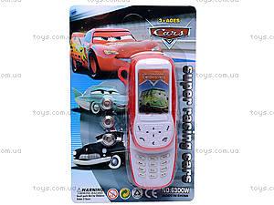 Детский мобильный телефон Cars, 6300W, купить