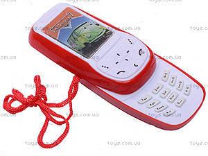 Детский мобильный телефон Cars, 6300W